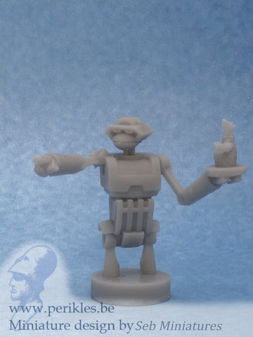 Robot Tank Commander (35mm wargaming miniature)