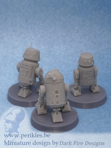 Star Mechs (3x 35mm wargaming miniatures)