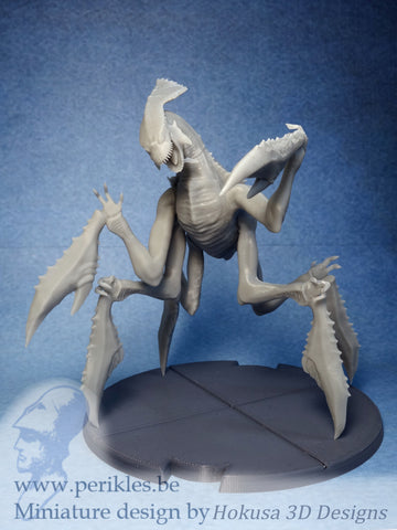 Giant Crab Lizard (35mm wargaming miniature)