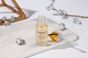Moisturizing Skin Care Serum 24k Gold