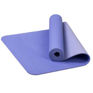 6mm TPE Non-slip Yoga Mat - Fresh Body
