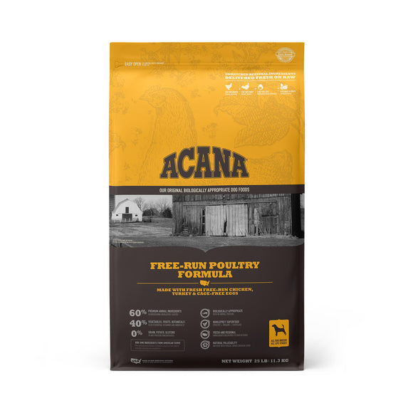 ACANA Free-Run Poultry Grain-Free Dry Dog Food