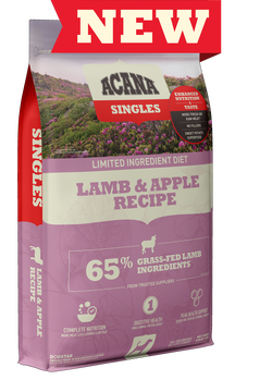 ACANA Singles Lamb & Okanagan Apple Formula Dry Dog Food