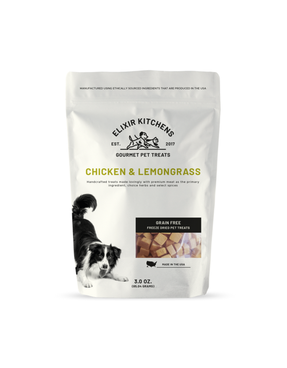Kitchen Elixir Chicken & Lemongrass, 3-oz