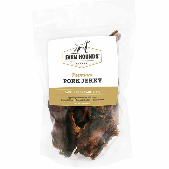 Farm Hounds Pork Jerky, 3.5-oz