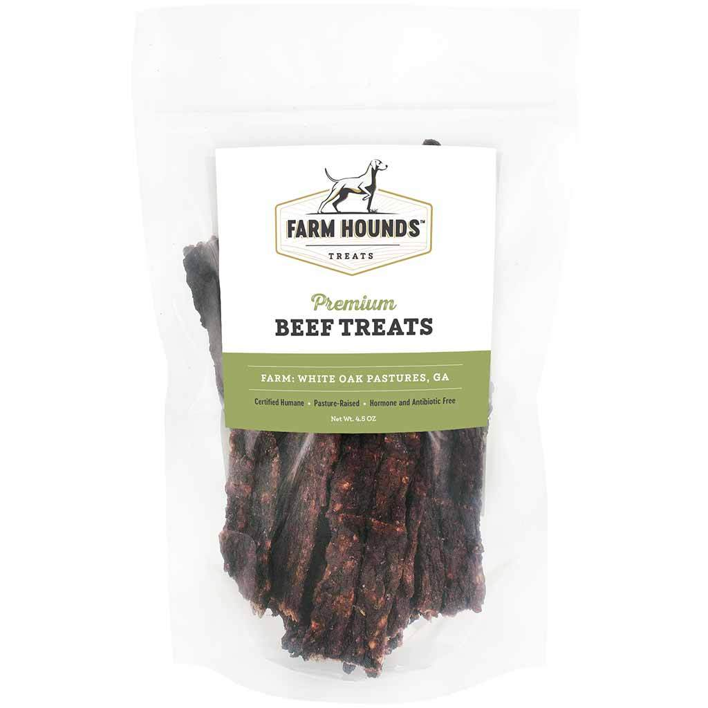 Farm Hounds Beef Treats, 4.5-oz