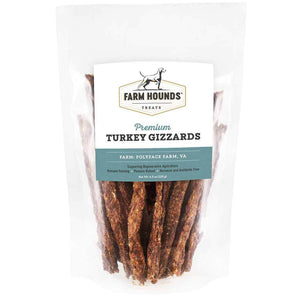 Farm Hounds Turkey Gizzards, 4.5-oz