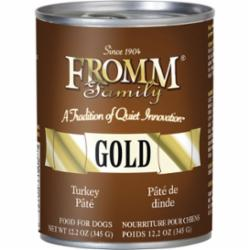 Fromm Dog Gold Turkey Pate Can, 12.2-oz can