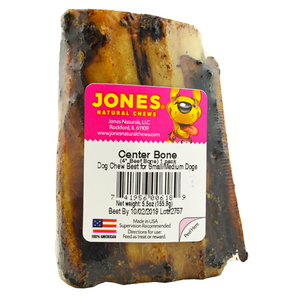 Jones Natural Chews Center Bone Dog Treat, 4-in
