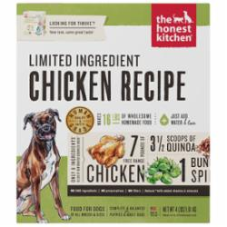 The Honest Kitchen Limited Ingredient Chicken Recipe Dehydrated Dog Food, 4-lb box