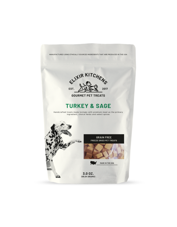 Kitchen Elixir Turkey & Sage, 3-oz