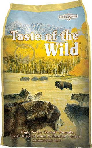 Taste of the Wild High Prairie Grain-Free Dry Dog Food, 14 or 28-lb bag