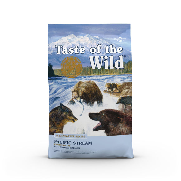 Taste of the Wild Pacific Stream Grain-Free Dry Dog Food, 14 or 28-lb bag