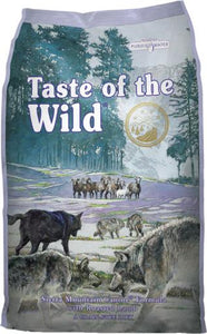 Taste of the Wild Sierra Mountain Grain-Free Dry Dog Food, 14 or 28-lb bag