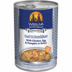 Weruva Dog Classic Bed & Breakfast with Chicken, Egg, & Pumpkin in Gravy Grain-Free Wet Dog Food, 14-oz can