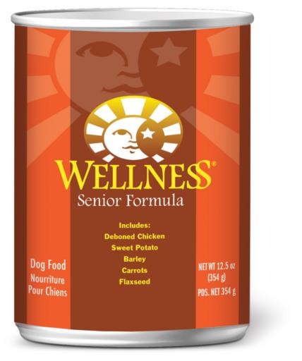 Wellness Complete Health Senior Formula Canned Dog Food, 12.5-oz can