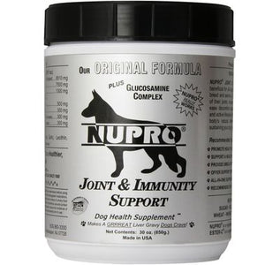 Nupro Joint & Immunity Support Dog Supplement, 30-oz