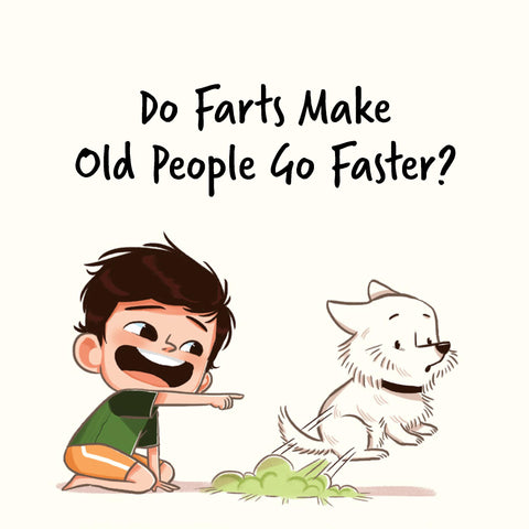 Jack Is Curious: Do Farts Make old People Go Faster? (Book 4)