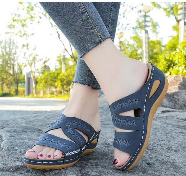 omggears™ Premium Orthopedic Thick Platform Large Size Slipper Sandals-buy 2 free shipping