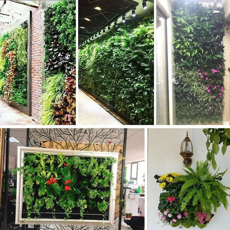 VERTICAL GEOTEXTILE PLANTING WALL