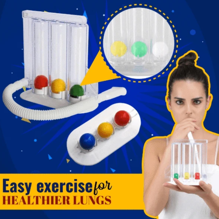 【LAST DAY PROMOTION 50% OFF!】Wonder Care Deep Breathing Lung Exerciser