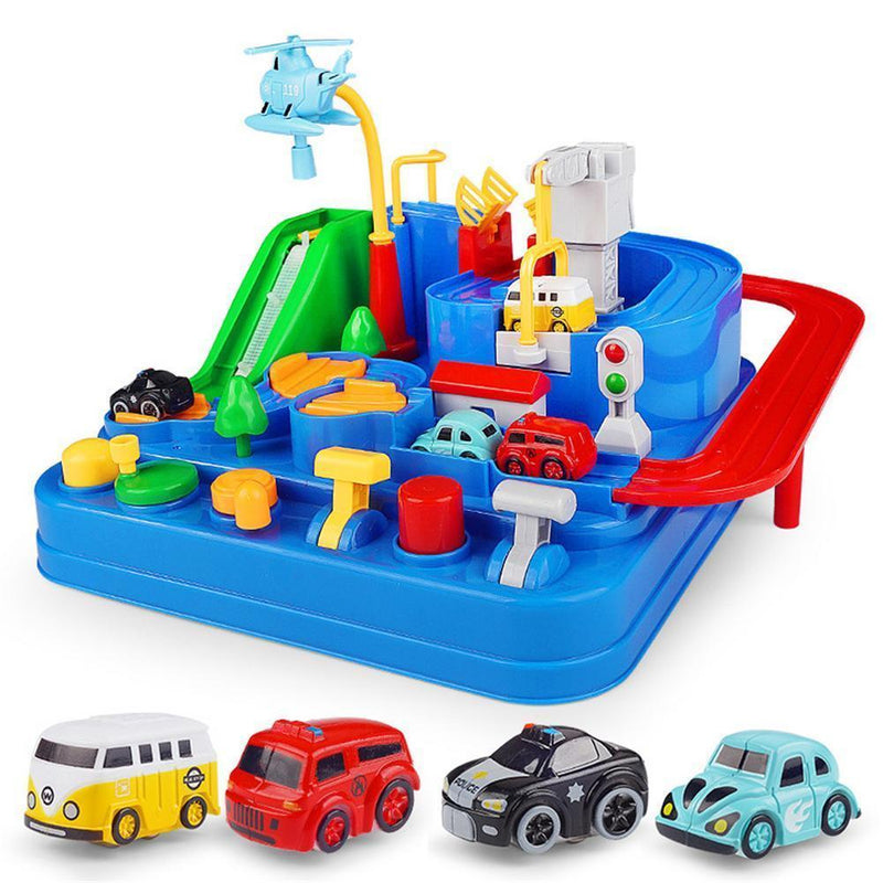 Children's Rail Car Toy Set