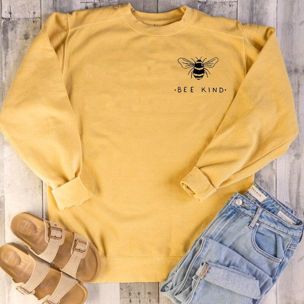Bee Kind Sweatshirt-BUY 2 GET 1 FREE