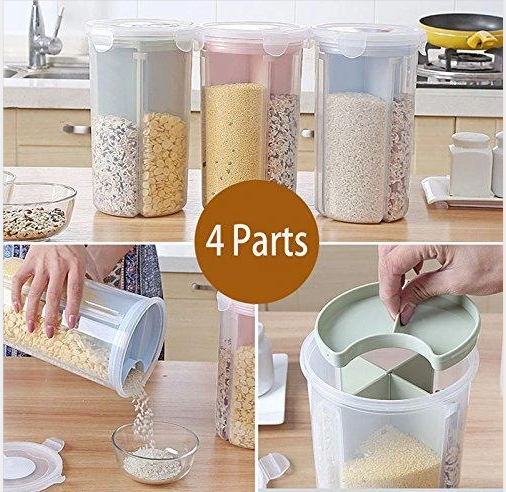 Rotating Kitchen Storage Tank Containers