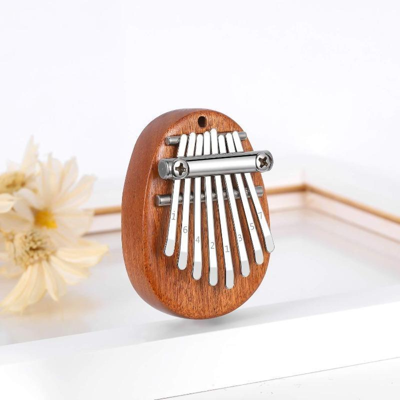 💘 Wonderful Gift 🎁 8 Keys Mini Kalimba Thumb Piano🎉