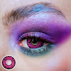 Modakawa YEAR Enchanted Pink / 0.00 Enchanted Pink Colored Contact Lenses Contacts