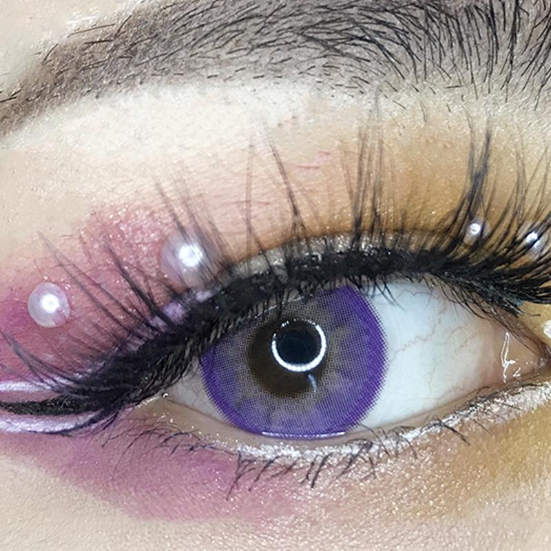 Modakawa YEAR Maria Violet / 0.00 Maria Violet Colored Contact Lenses Contacts