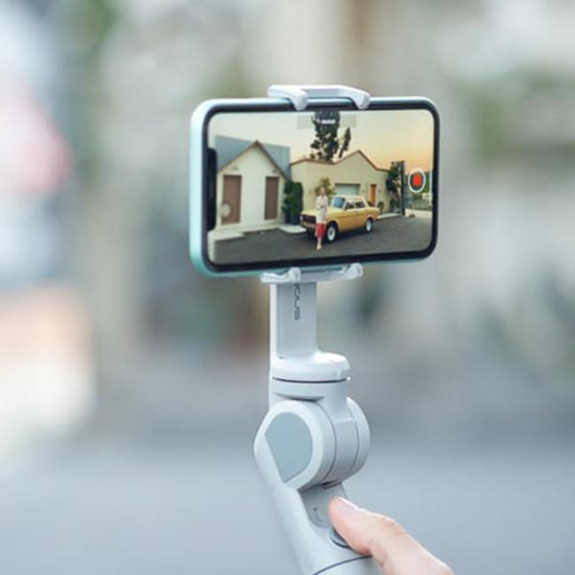 3D Smart Bluetooth-- Auto-foldable 3axis Phone Gimbal【LAST DAY 50% OFF】