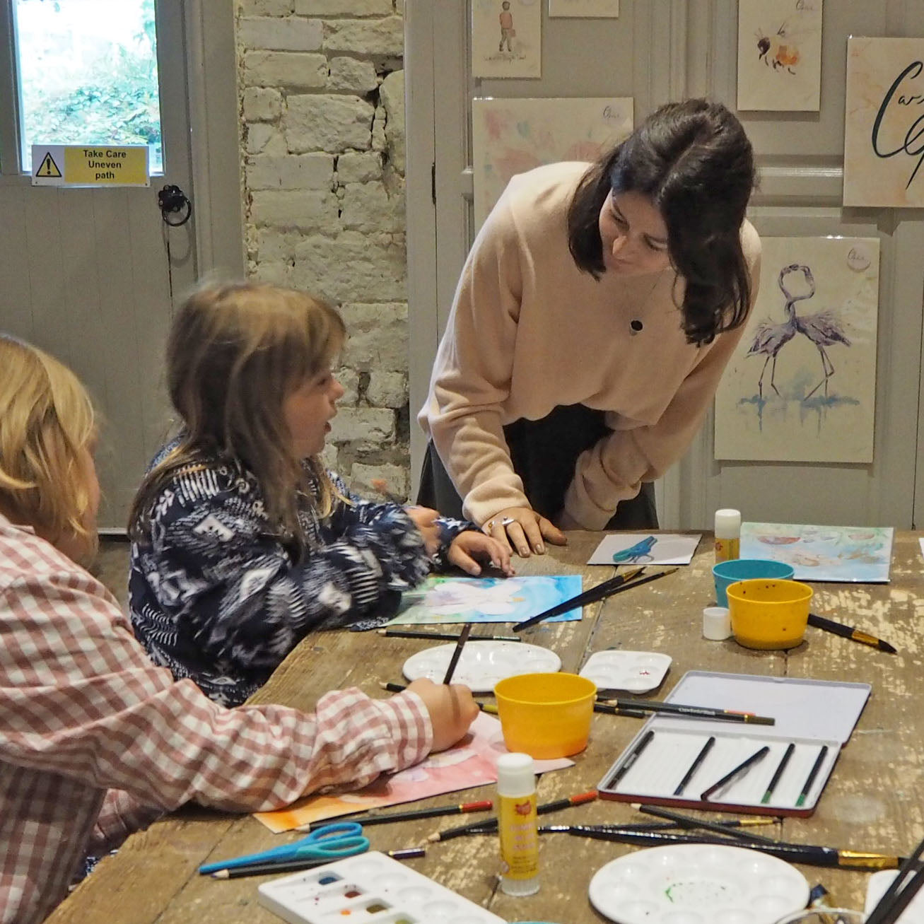 Children's watercolour workshop