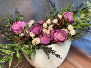 Dried Valentine's Day Flowers