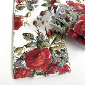 Garden Rose Hand & Face Towel