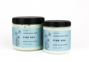 Pink Sea Sugar Scrub