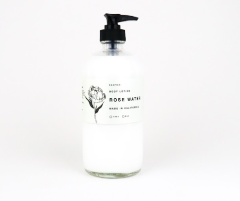 Rose Water Body Lotion