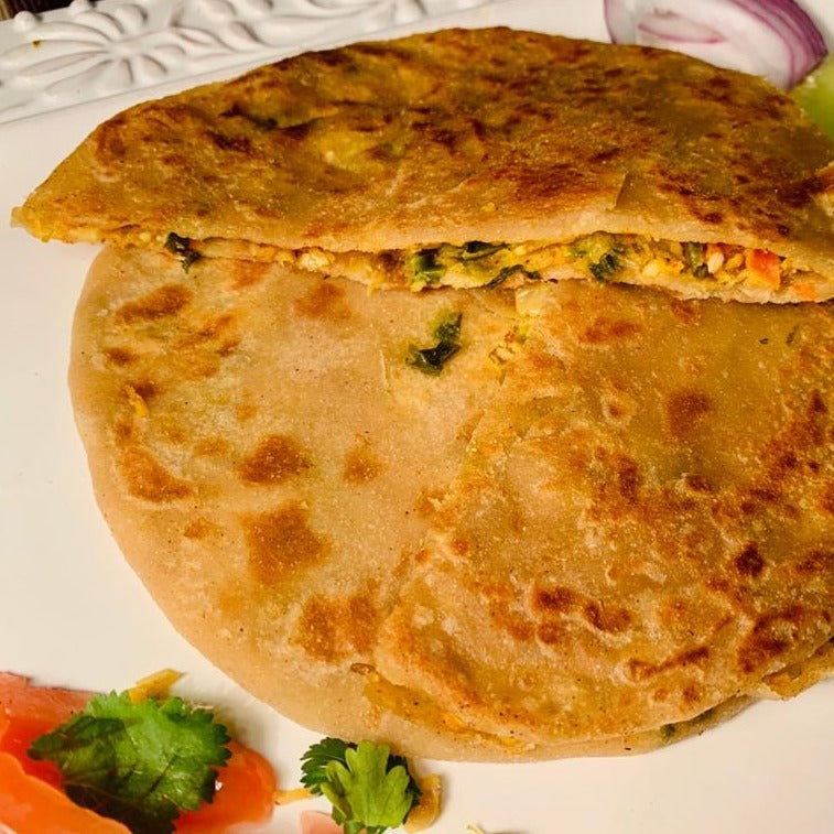 Fresh Continental Delights - Stuffed Parathas