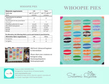 Load image into Gallery viewer, WHOOPIE PIES _ paper quilt pattern