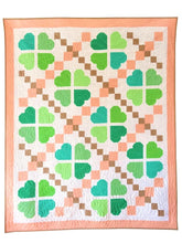 Load image into Gallery viewer, LUCKY CLOVER _ digital quilt pattern