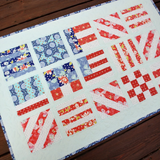 Handmade quilt _ OLD GLORY