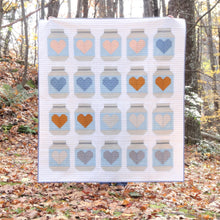 Load image into Gallery viewer, FARMHOUSE MASON JARS _ paper quilt pattern