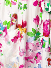 Load image into Gallery viewer, LONG FLOWER PRINT DRESS