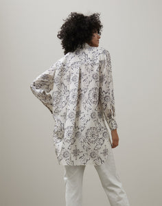 PRINTED SILK SHIRT