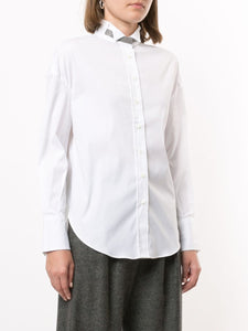 CAMICIA CON COLLETTO MONILE