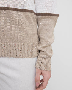 COTTON LINEN SWEATER
