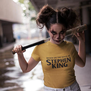 Based on the Novel by Stephen King - Horror Inspired Unisex Tee Nofspodcast