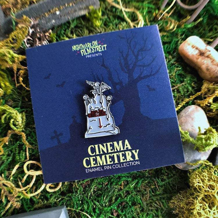Enamel Pin - Beetle Breakfast Enamel Pin - Beetlejuice Inspired Pin From The Cinema Cemetery Collection