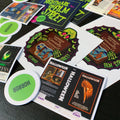 Enamel Pin - Dead Media MYSTERY BOXES - Limited Edition Horror Movie VHS Enamel Pins, Stickers, Buttons, & More!