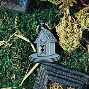 Enamel Pin - Head Of The Team Enamel Pin - Zero Nightmare Before Christmas Inspired Pin From The Cinema Cemetery Collection